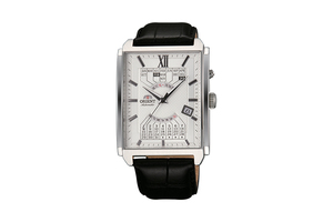 ORIENT: Mechanical Contemporary Watch, Leather Strap - 36.0mm (EUAG005W)
