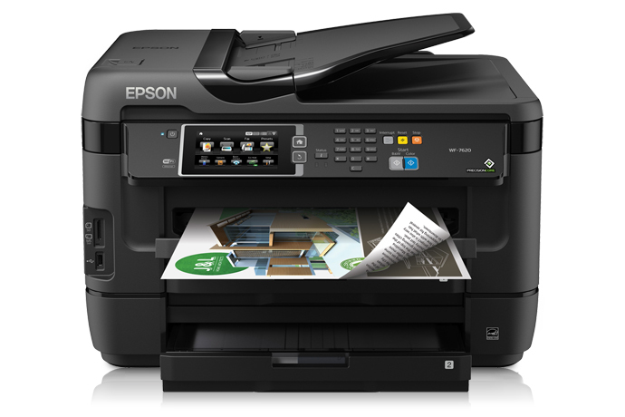 Epson Workforce Wf 7620 All In One Printer Inkjet Printers For
