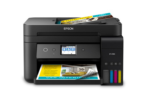 EcoTank ET-4760 All-in-One Printer - Black