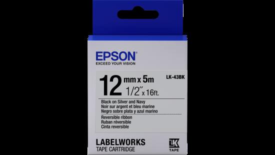LabelWorks Reversible Ribbon LK Tape Cartridge ~1/2
