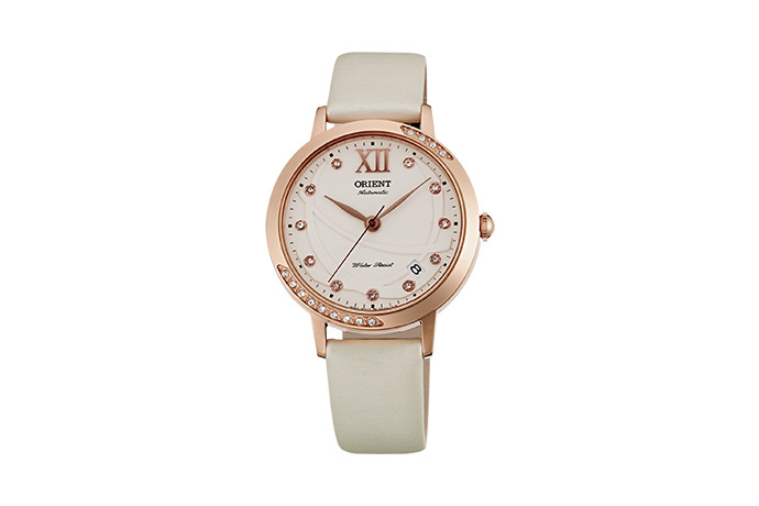 ORIENT: Mechanical Contemporary Watch, Leather Strap - 36.0mm (ER2H003W)
