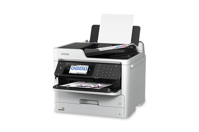 WorkForce Pro WF-C5710 Network Multifunction Color Printer with Replaceable Ink Pack System