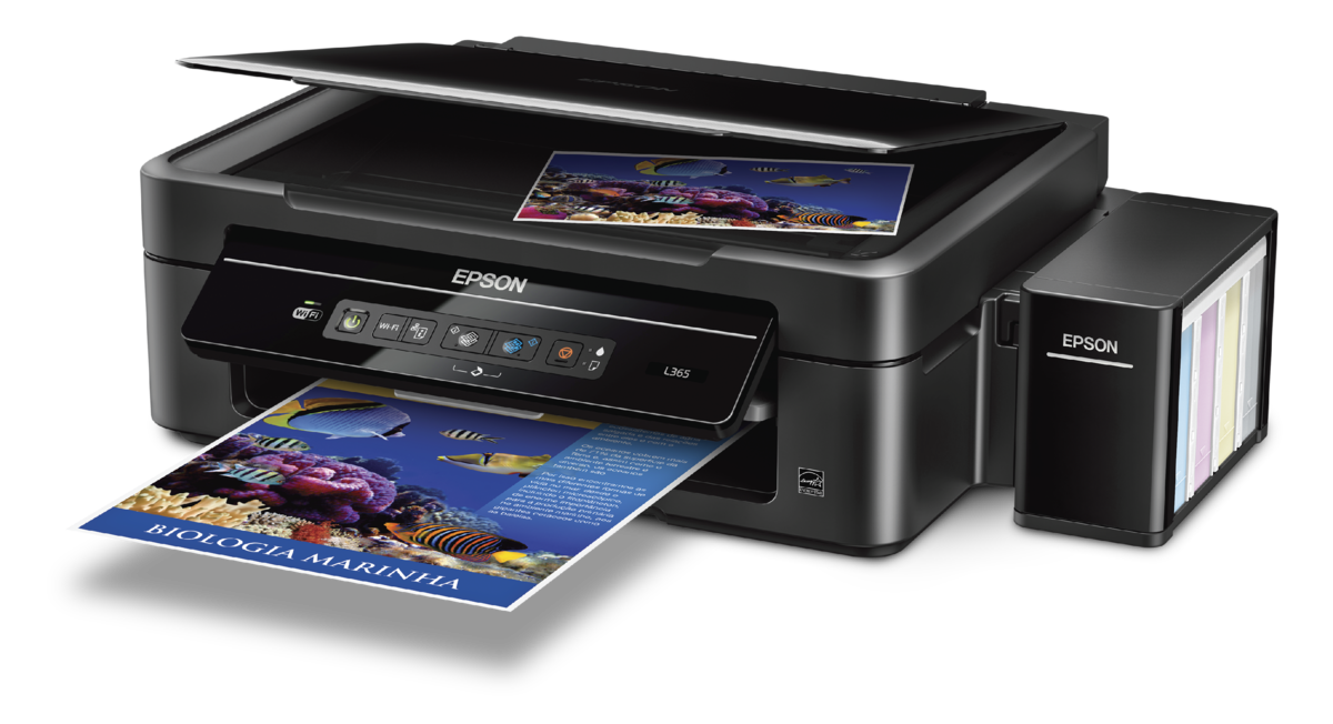 Epson L365 Wi Fi All In One Ink Tank Printer Ink Tank