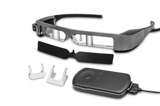 Moverio BT-300FPV Smart Glasses (FPV/Drone Edition) - Refurbished