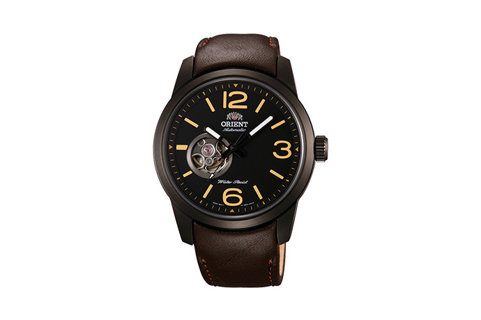 ORIENT: Mechanical Sports Watch, Leather Strap - 42.5mm (DB0C001B)