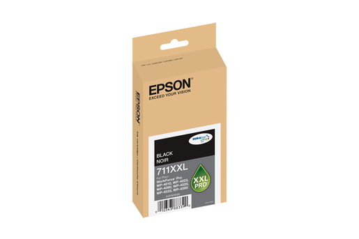 Epson 711XXL, Black Ink Cartridge, Extra High Capacity