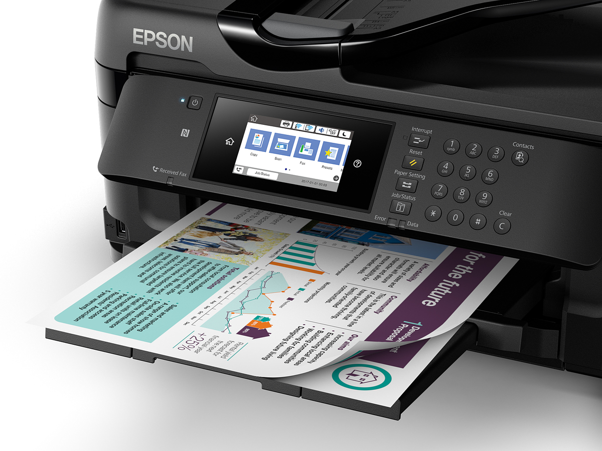 Epson WorkForce WF-7711 A3 Wi-Fi Duplex All-in-One Inkjet Printer