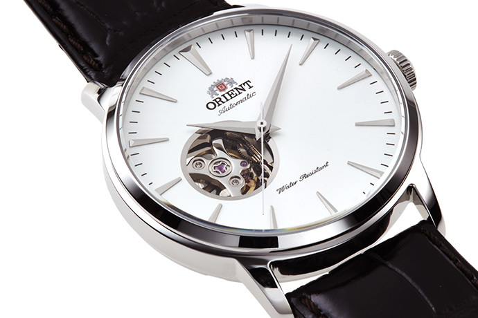 ORIENT: Mechanical Contemporary Watch, Leather Strap - 41.0mm (AG02005W)
