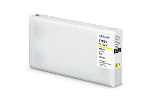 Epson T43S, 200ml Yellow Ink Cartridge