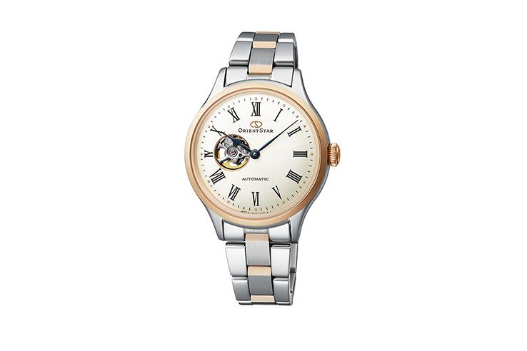 Orient Star: Mecánico Clásico Reloj, Metal Correa - 38.5mm (AF02003W)