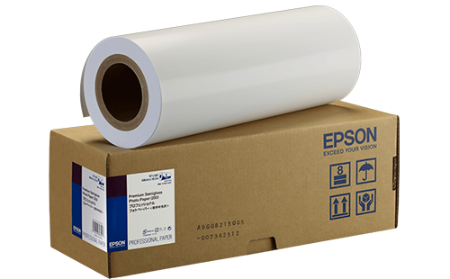 Epson Premium Semigloss Photo Paper - 24 in x 30m 1 Roll