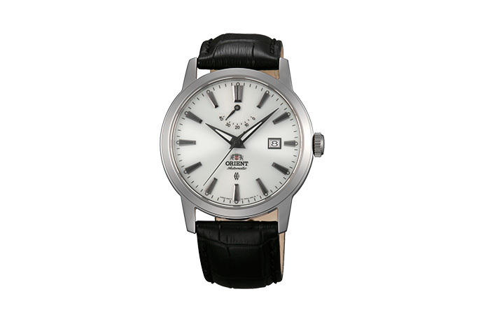 ORIENT: Mechanical Contemporary Watch, Leather Strap - 41.0mm (AF05004W)