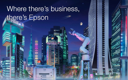 Where there's business, there's Epson