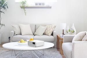 Proyector Láser Portátil para Entretenimiento Epson EF-100 Blanco