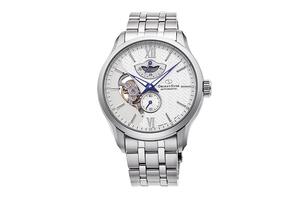 ORIENT STAR: Mechanical Contemporary Watch, Metal Strap - 41.0mm (RE-AV0B01S)