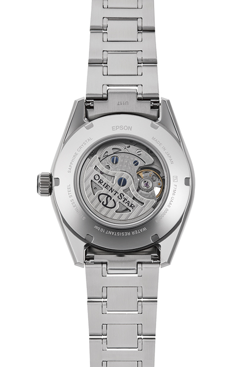 ORIENT STAR: Mechanical Contemporary Watch, Metal Strap - 41.0mm (RE-AY0003S)