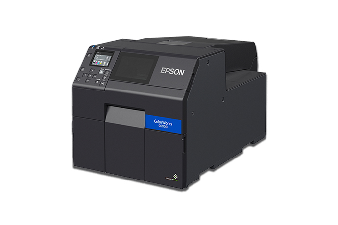 ColorWorks CW-C6000A Color Inkjet Label Printer with Auto Cutter