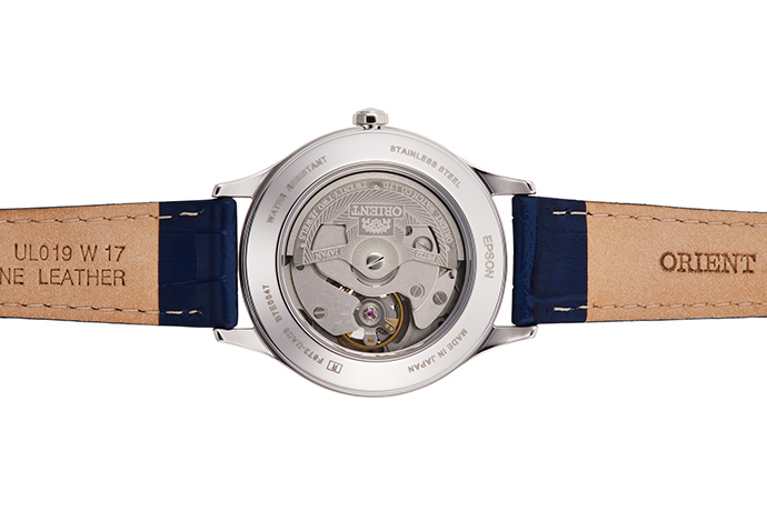 ORIENT: Mechanical Contemporary Watch, Leather Strap - 35.6mm (RA-AG0018L)