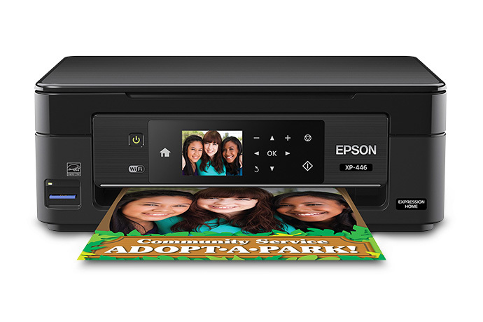 Epson Expression Home XP-446 Small-in-One Printer