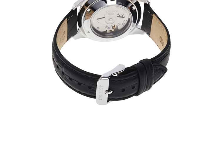 ORIENT: Mechanical Contemporary Watch, Leather Strap - 40.8mm (RA-AX0007L)