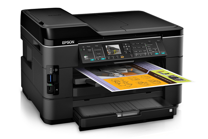 Epson Workforce Wf 7520 All In One Printer