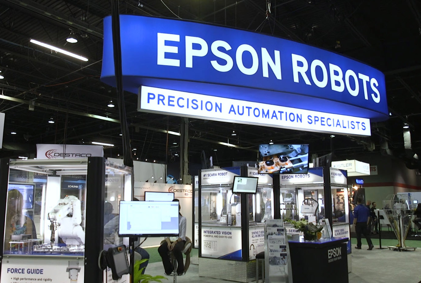 Epson Synthis T-Series & Force Guide at Assembly 2018