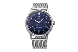 ORIENT: Mechanical Classic Watch, Metal Strap - 40.5mm (RA-AC0019L)