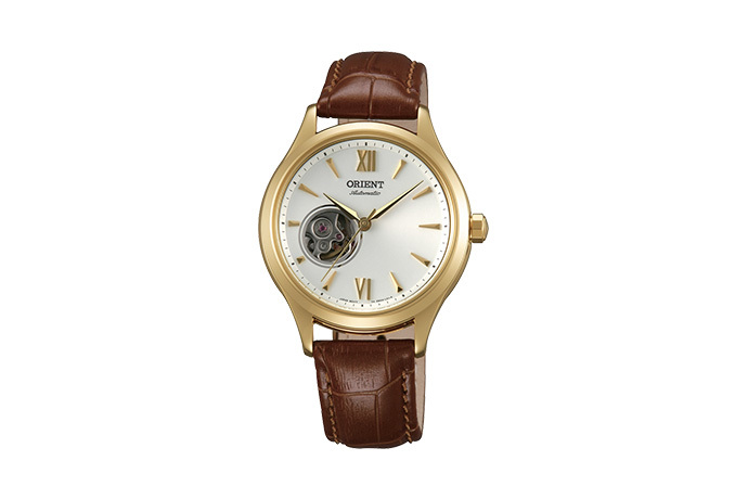 ORIENT: Mechanical Contemporary Watch, Leather Strap - 36.0mm (DB0A003W)