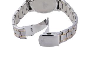 ORIENT: Cuarzo Sports Reloj, Metal Correa - 42.0mm (RA-KV0003S)