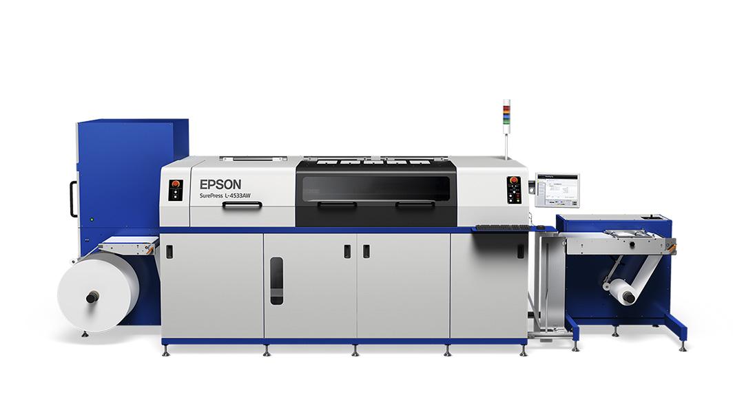 Short Run Label Printer - Epson SurePress Digital Label