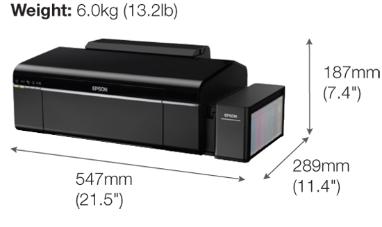 Epson L805 Wi-Fi Photo Ink Tank Printer | Ink Tank System