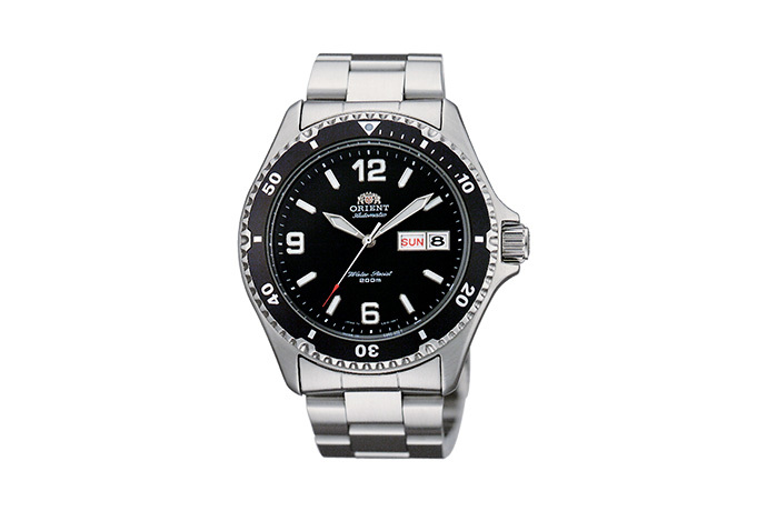 ORIENT: Mechanical Sports Watch, Metal Strap - 41.5mm (AA02001B)
