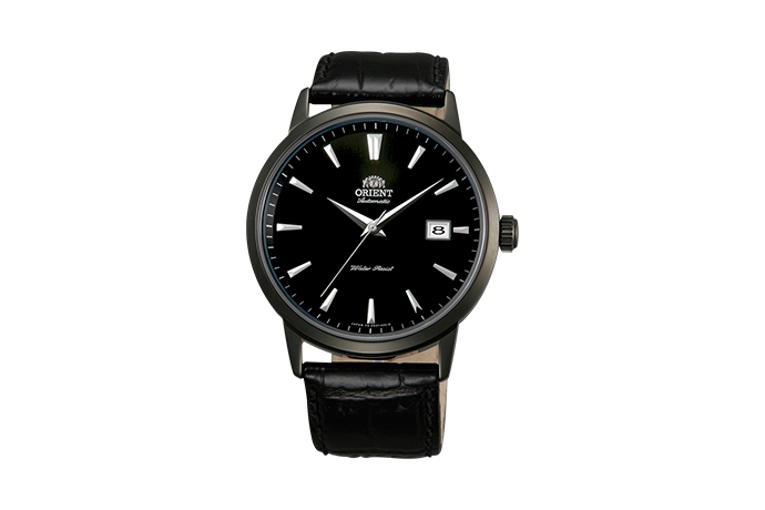 ORIENT: Mechanical Contemporary Watch, Leather Strap - 41.0mm (ER27001B)