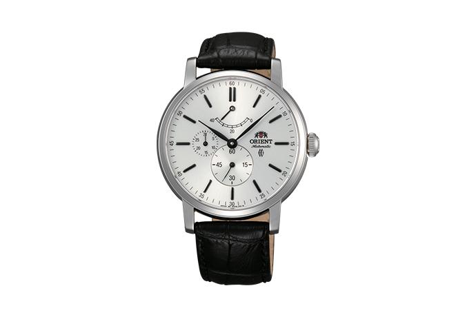 ORIENT: Mechanical Classic Watch, Leather Strap - 41.0mm (EZ09004W)