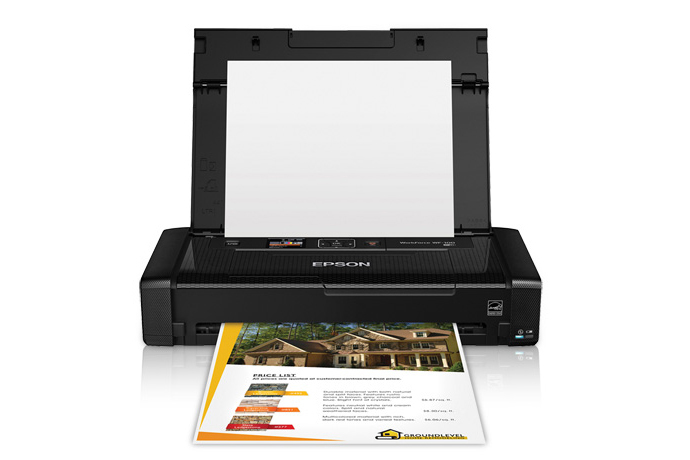 Epson WorkForce WF-100 Mobile Printer