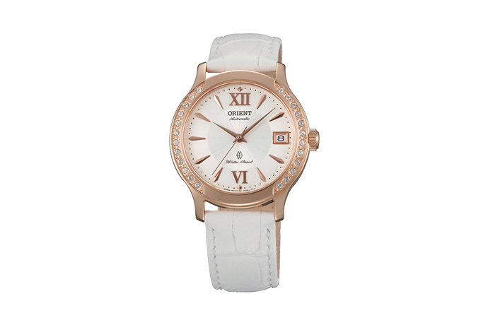 ORIENT: Mechanical Contemporary Watch, Leather Strap - 36.0mm (ER2E002W)