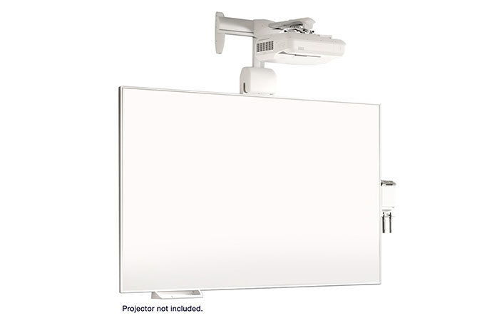 All-in-One Whiteboard and Wall Mount System for BrightLink Pro