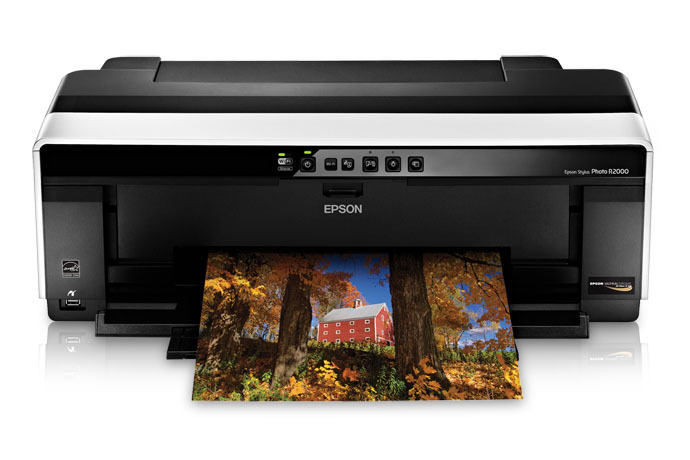 epson stylus photo r2000 inkjet printer - refurbished | inkjet