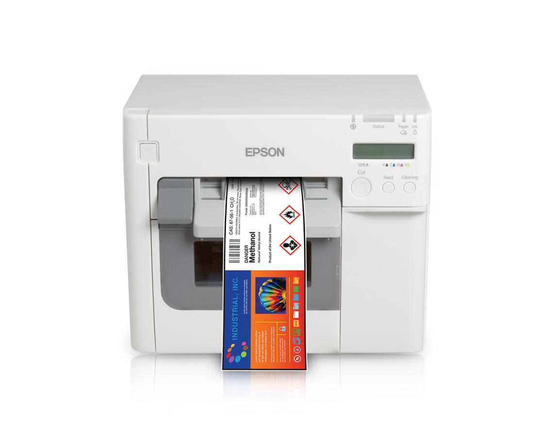 Color printer label - Colorworks C3500 Color Label Printer