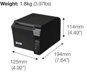 Epson TM-T70-i  Intelligent Thermal POS Receipt Printer
