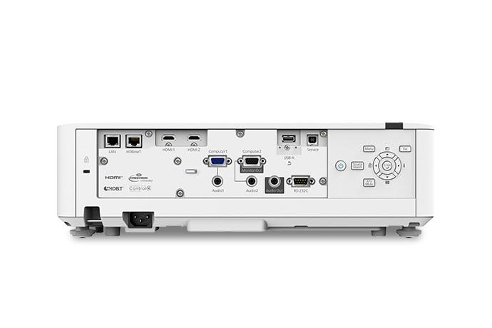 PowerLite L520W WXGA Long-throw Laser Projector