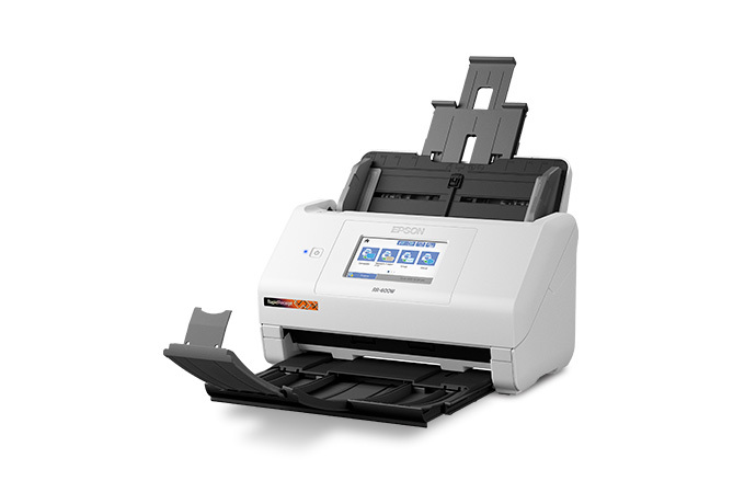 RapidReceipt™ RR-600W Wireless Duplex Touchscreen Desktop Receipt and Color Document Scanner