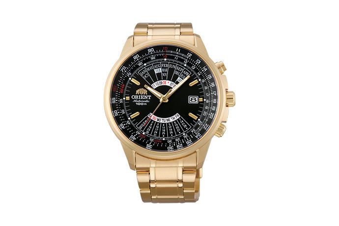 ORIENT: Mechanisch Sport Uhr, Metall Band - 44.0mm (EU07001B)