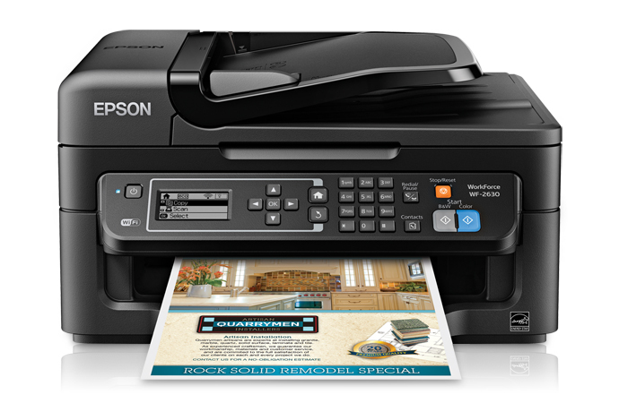 epson workforce wf 2630 all in one printer inkjet printers for rh epson com Epson Workforce 645 Epson Workforce 500