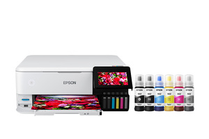EcoTank Photo ET-8500 Wireless Color All-in-One Supertank Printer