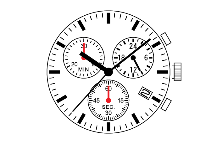 MUSCLE MOVEMENT  Chronograph  VR34