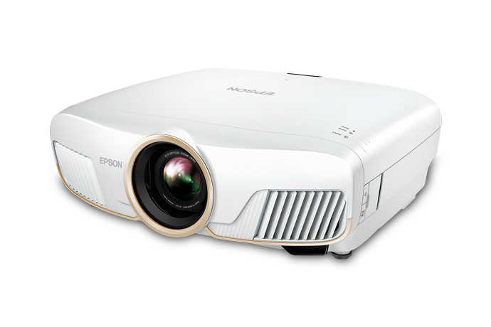 Home Cinema 5050UBe Wireless HDMI 4K PRO-UHD Projector with Advanced 3-Chip Design and HDR10