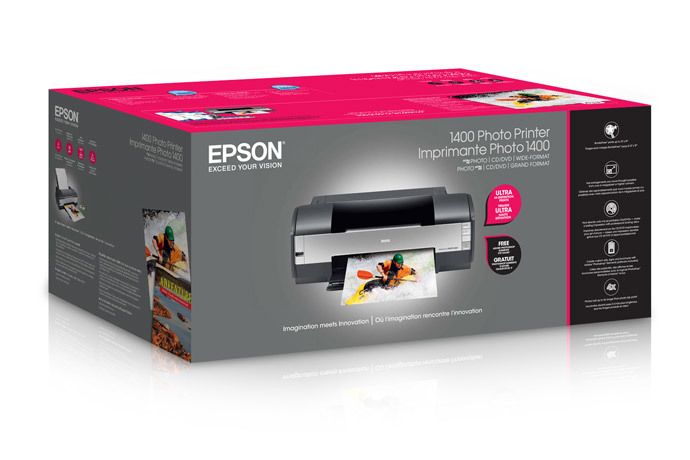 Epson Stylus Photo 1400 Inkjet Printer