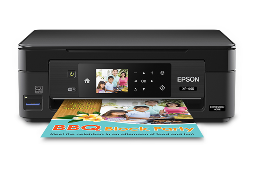 Epson Expression Home XP-440 Small-in-One All-in-One Printer - Refurbished