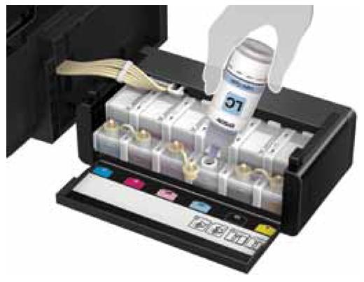 Epson L805 Wi Fi Photo Ink Tank Printer Ink Tank System